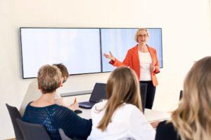 Trainings der GeSi Software GmbH im eigenen Schulungsraum